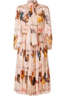 Dolce & Gabbana Vestido Estampado - Neutro
