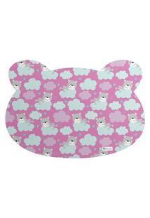 Tapete Pet Mdecore Urso Urso Pink 54X39Cm
