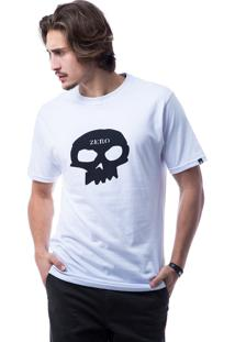 Camiseta Manga Curta Zero Branco