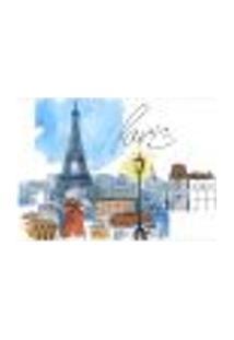 Painel Adesivo De Parede - França - Paris - 1333Pnp