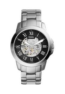 a603a27893d Off Premium. Relógio Premium Masculino Fossil Grant Prata