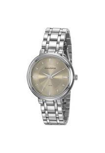 Kit Relógio Feminino Mondaine 76758L0Mvne3Kb Analógico 5Atm + Semijoia | Mondaine | Prata | U