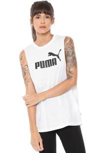 Regata Puma Essentials Branca