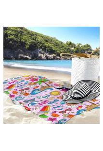 Toalha De Praia / Banho Summer Único