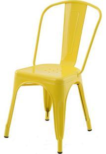 Cadeira Iron Tolix Amarelo - 16654 - Sun House