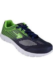 Tenis Running Verde Masculino Box 58230028