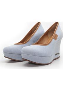 Scarpin Barth Shoes Land Sl Jeans - Jeans Claro - Jeans - Feminino - Dafiti