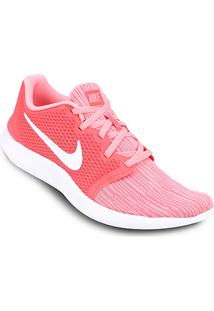 89b414ea175b6 ... Tênis Nike Flex Contact 2 Feminino - Feminino-Rosa+Branco