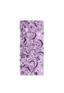 Adesivo Decorativo De Porta - Floral - 1376Cnpt