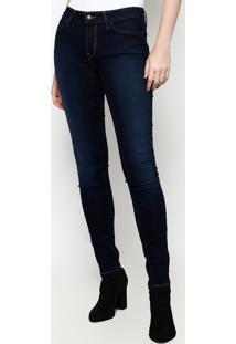 043cf4688 ... Jeans 711™ Skinny Estonado Com Pesponto - Azul Escurolevis