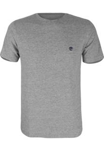 Camiseta Timberland Masculina Ss Duns - Masculino-Cinza