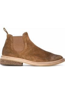 Marsèll Ankle Boot Slip On Pomicione - Marrom