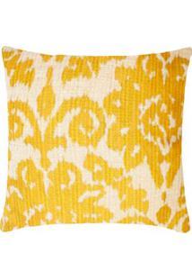 Capa De Almofada Potiers Cor: Amarelo - Tamanho: Único