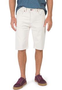 Bermuda Jeans Off White