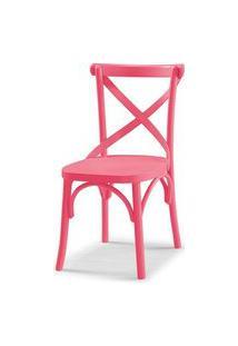 Cadeira X Cor Rosa - 31324 Rosa