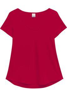 Blusa Rosa Escuro Mullet Conforto Malwee