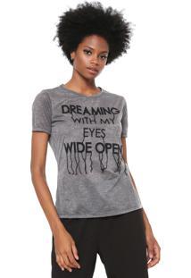 Camiseta Carmim Dreaming Cinza