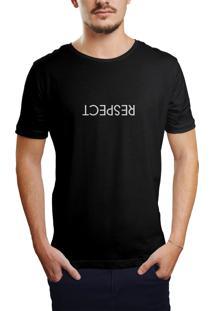 Camiseta Hunter Respect Preta