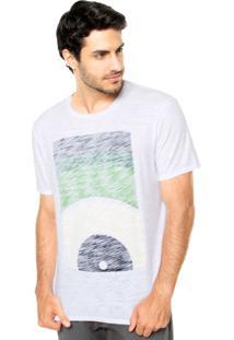 Camiseta Mandi Estampa Branca