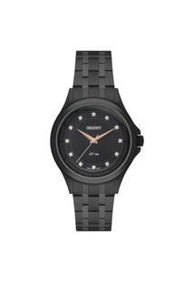 Relógio Orient Feminino Eternal Analógico Preto Fpss0011-P1Px