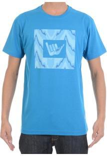 Camiseta Hang Loose Étnica Logo - Masculino