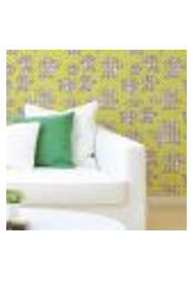 Papel De Parede Autocolante Rolo 0,58 X 5M - Flores Bolinhas 98767909