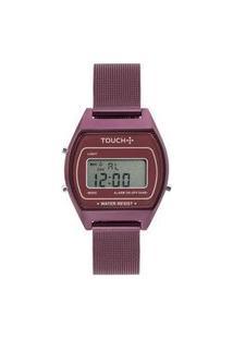 Relógio Touch Unissex Fogo Roxo - Twjh02Bh/4G Twjh02Bh/4G