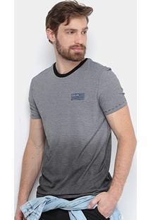 Camiseta Calvin Klein Listras Degradê Masculina - Masculino