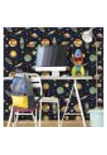 Papel De Parede Autocolante Rolo 0,58 X 3M Espaço Infantil 138028943