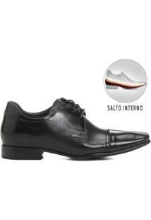 Sapato Social Democrata Still Taller - Masculino-Preto