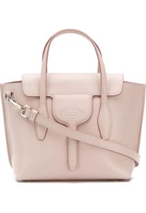 Tod'S Joy Mini Tote Bag - Rosa