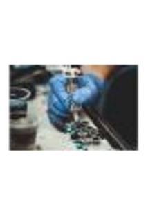 Painel Adesivo De Parede - Tatuagem - 1063Pnm