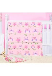 Cobertor Manta Bebe Baby Flannel Fofo - Corujinha