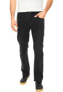 Calça Jeans Element Reta Xaparral Preta