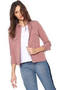 Camisa Uber Jeans Mullet Rosa