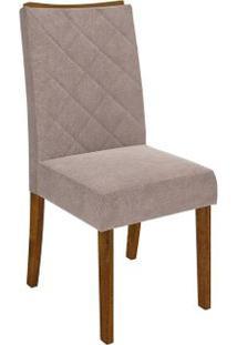 Cadeira Golden 2 Peças - Demolição - Suede Pena Bege