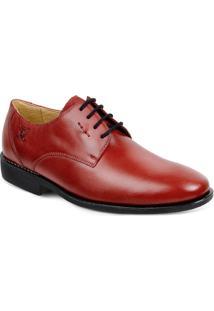 Sapato Em Couro Firenze 220230 - Masculino-Vermelho