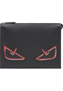 Fendi Bag Bug Clutch - Preto