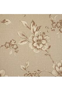 Papel De Parede Goteborg Floral- Marrom & Bege Escuro