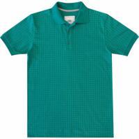 6a430f60d Camisa Pau A Pique Polo - Masculino-Verde