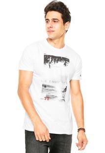 Camiseta Billabong Summon Branca