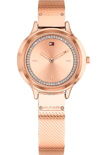 75d6155b443 Relógio Digital Aco Tommy Hilfiger feminino