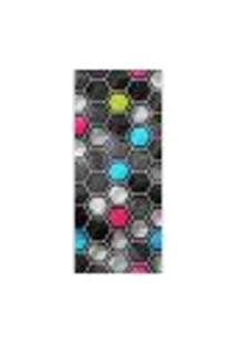Adesivo Decorativo De Porta - Abstrato - 342Pt Auto Colante