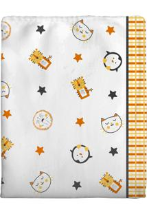 Cobertor Para Bebê Incomfral 70 X 90Cm Branco
