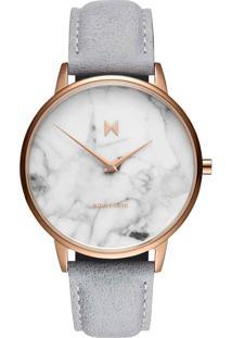 Relógio Mvmt Feminino Couro Cinza - D-Mb01-Rglama