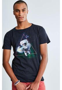 Camiseta Estampa Astronauta