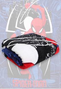 Cobertor Solteiro Lepper Spider Man Estampado 1,50 X 2,20 Azul-Marinho - Azul Marinho - Menino - Dafiti