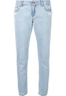 Dondup Calça Jeans Skinny 'Bakony' - Azul