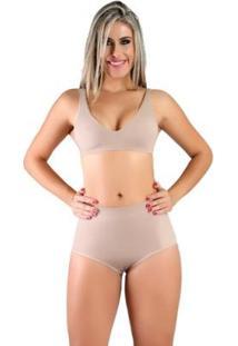 Calcinha Modeladora Compressão Feminina - Feminino
