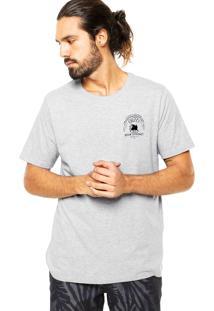 Camiseta Colcci Tag Leão Cinza